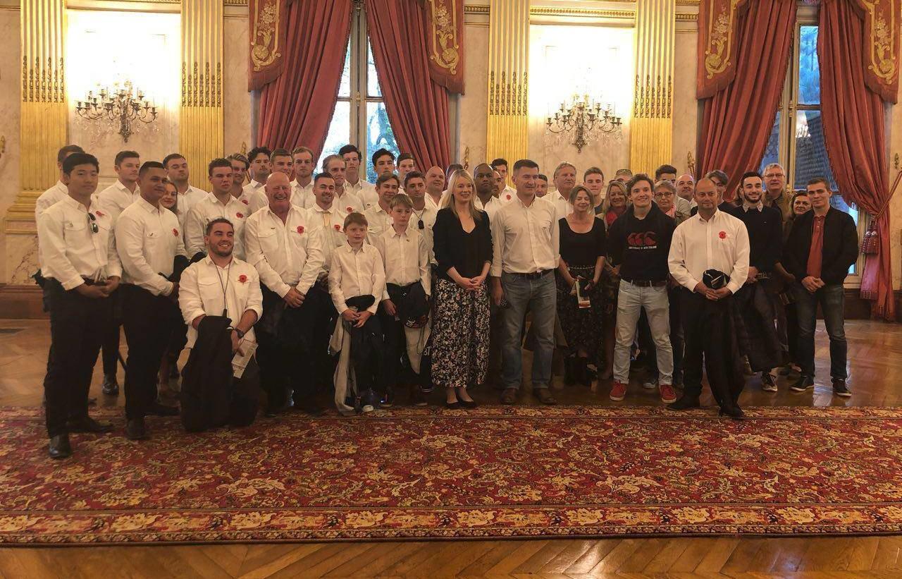 24/02/18 Visite à l'Assemblée nationale en l'honneur de la Peyo's Cup