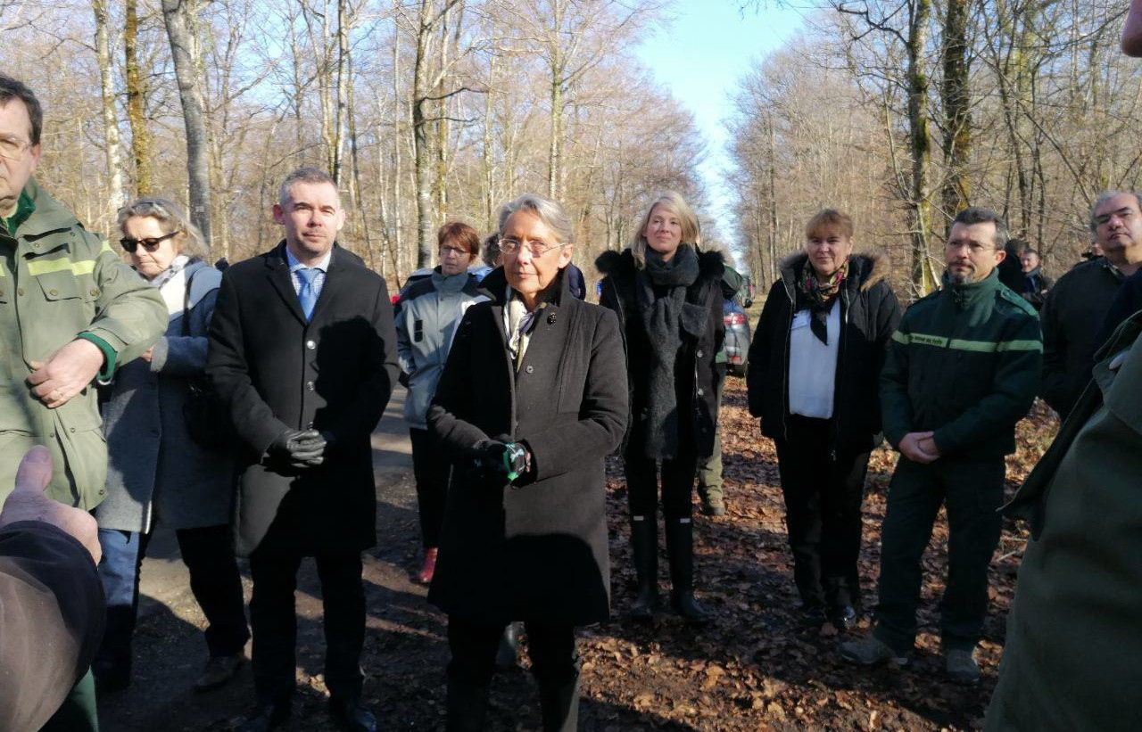 Lancement de l'atelier des territoires au Parc national de forêts