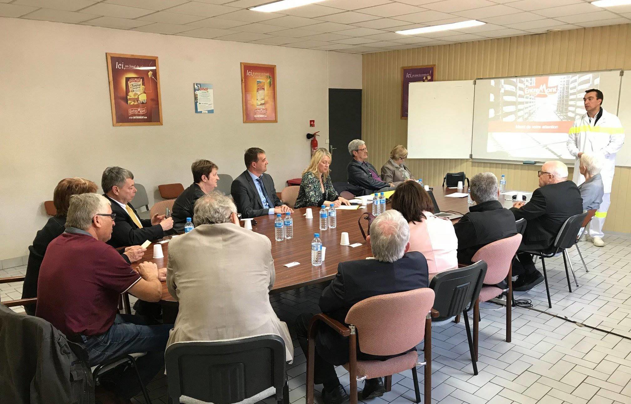 04-05-2018 Rencontre et discussion d'enjeux économiques de la région