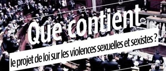17/05/18 Adoption du projet de loi renforçant la lutte contre les violences sexuelles et sexistes