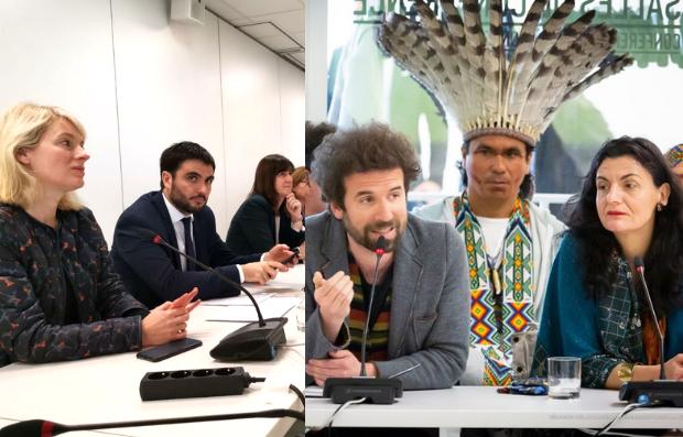 Participation au G7 environnement