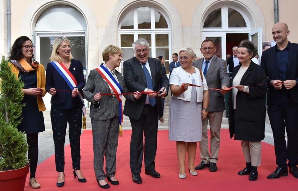 Inauguration du CNAM à Chaumont