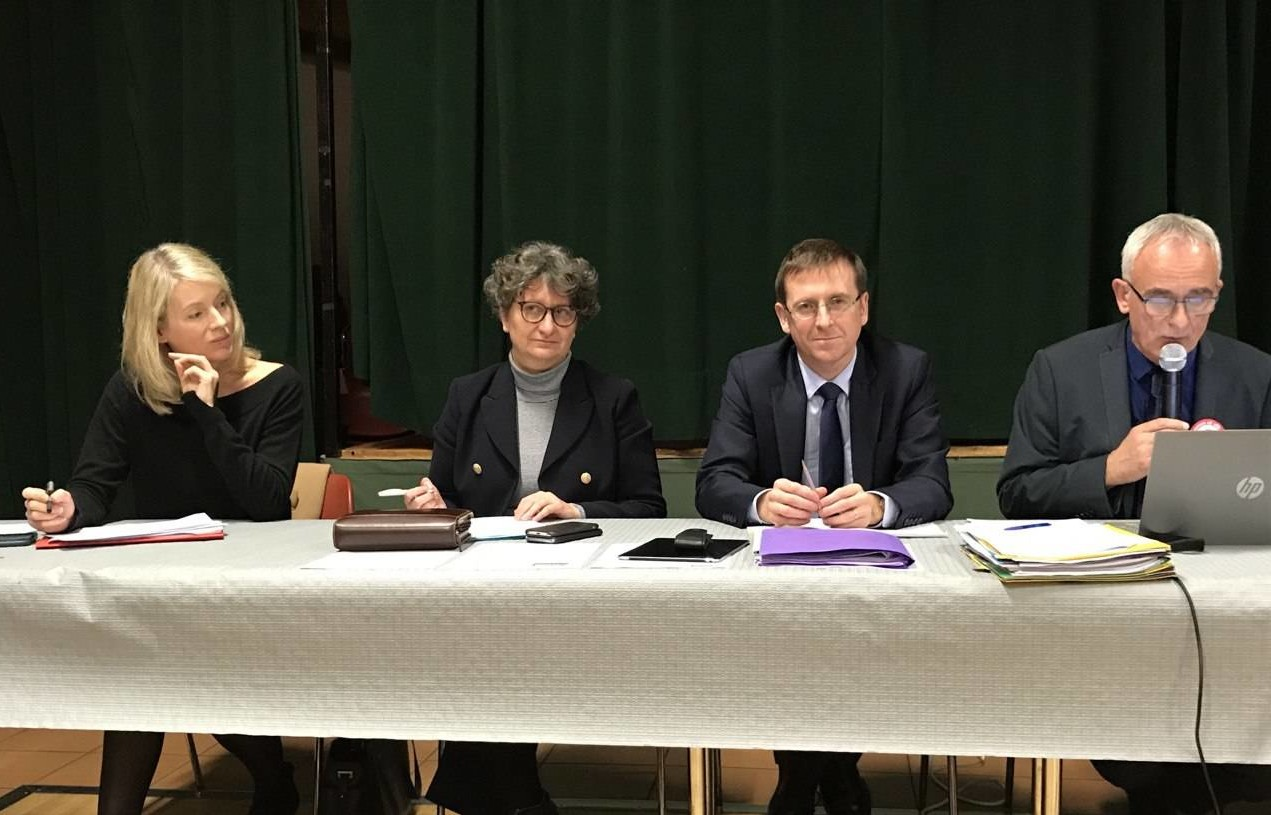 AG des maires ruraux à Neuilly-sur-Suize