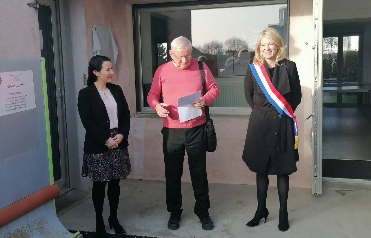 Nouveaux locaux pour le Centre d'accueil des demandeurs d'asile