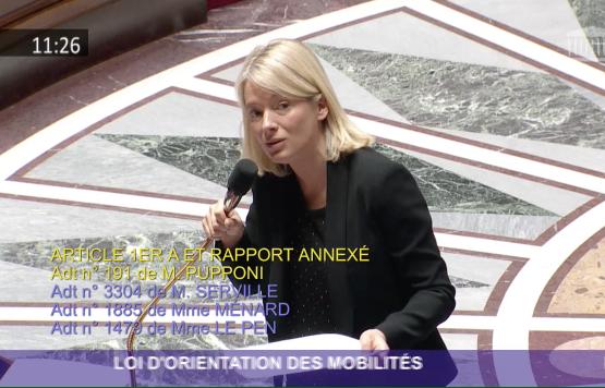 La loi d'orientation des mobilités débattue dans l'hémicycle