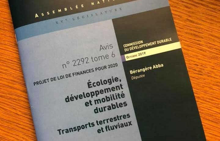 Nommée rapporteure pour avis du projet de loi de finances 2021