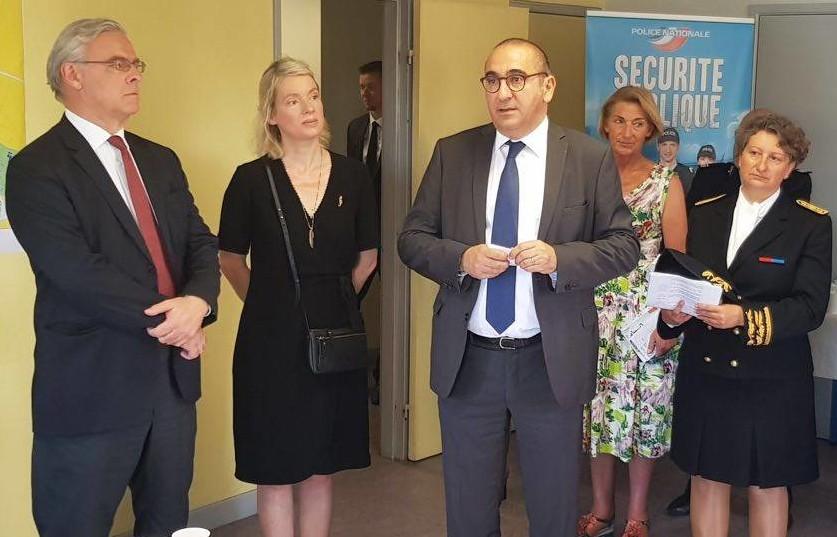 Avec Laurent Nunez en Haute-Marne sur la sécurité du quotidien