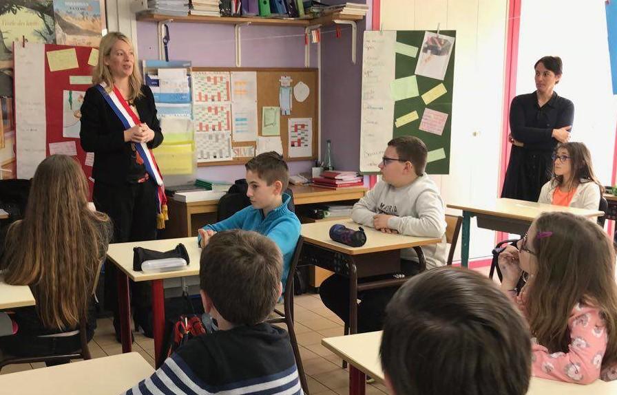 L'école de Longeau participe au Parlement des enfants