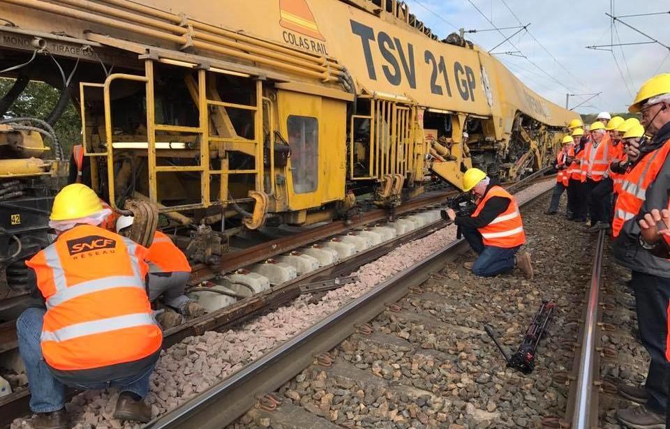11-10-2017 Réparation des voies de chemin de fer